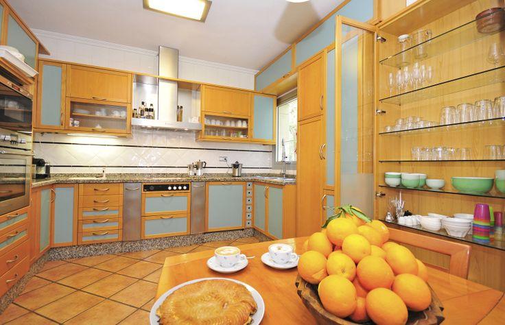 Zeer complete en uitgebreide keuken