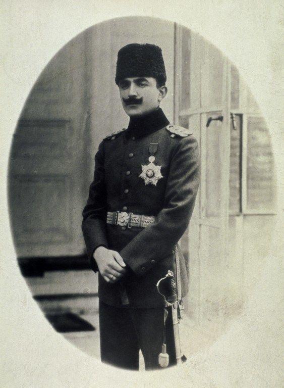 Portrait de l'homme politique turc Ismail Enver Pasha (1881-1922), leader de la Révolution des Jeunes-turcs