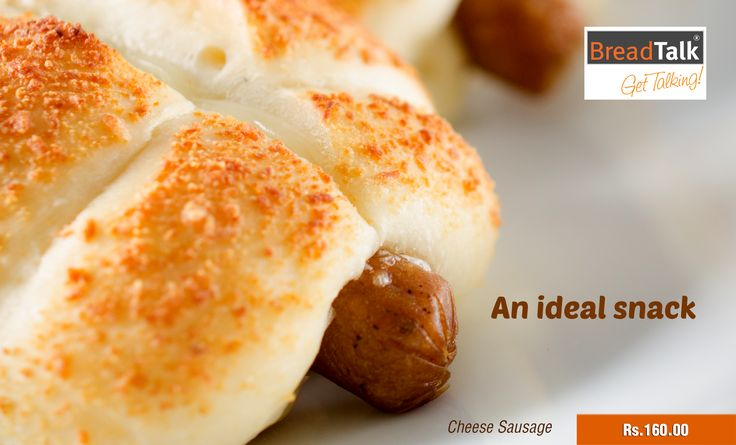 An Ideal #Snack – Cheese Sausage – Rs.160 #BreadTalkSL