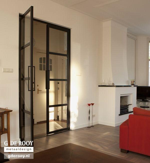 Taatsdeuren deur met standaard taatssysteem