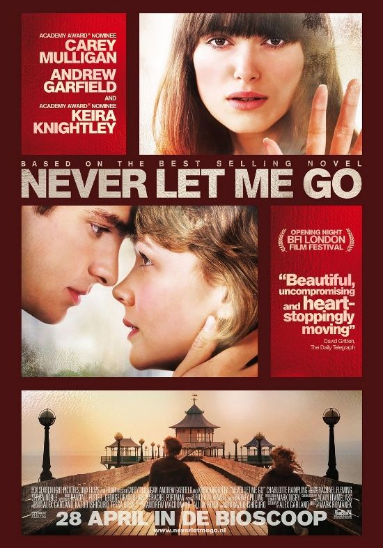 Never Let Me GO.....This one affected me very deeply..Reminded me of a distant memory I had long forgotten............ Amazingly moving movie... <3