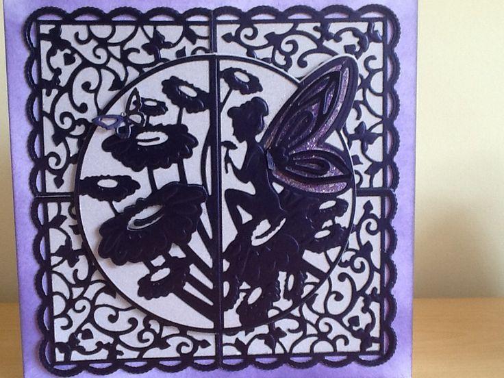 card using tonic dies