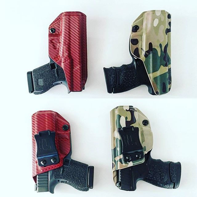 Glock 43 IWB/AIWB Kydex Holster - Profile Holster - Right Hand
