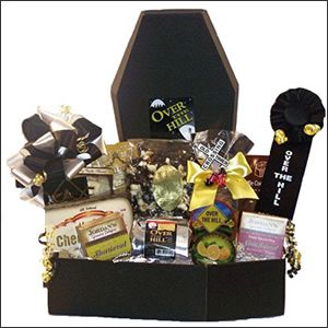 12 best happy birthday gift baskets images on pinterest birthday over the hill birthday 6 oz old timers snack mix 11 oz sugar free negle Image collections