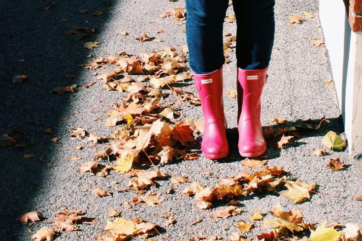 What I Wore Wednesday: Plaid Shirt + Jeans Remixed : Hunter Boots