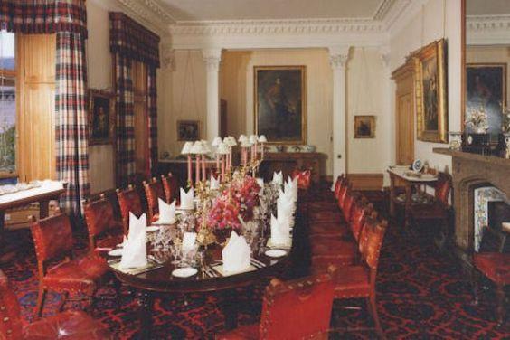 Decor Design Review - Balmoral dining room   The Splendour ...