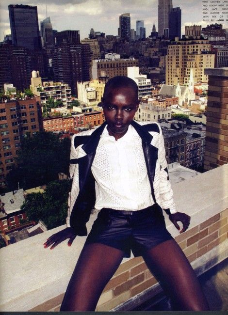 Grace Bol by David Bellemere for Flaunt Magazine