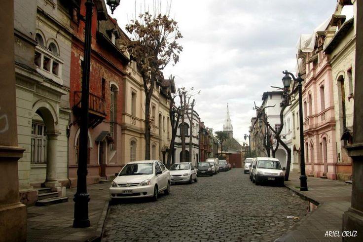Yungay Neighbourhood, Santiago, Chile.