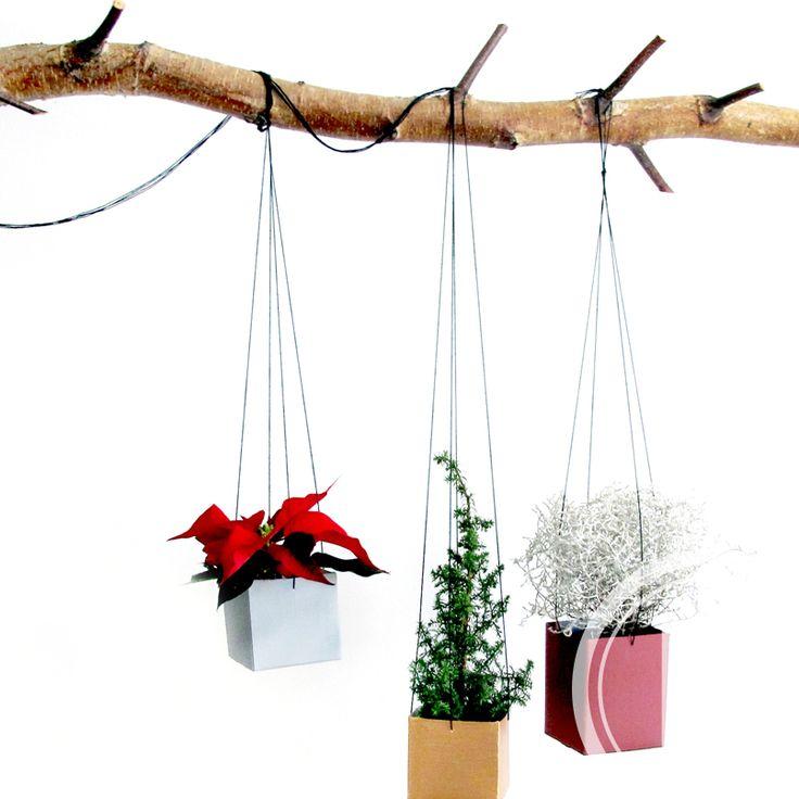 DIY Planteophæng. Smukke ophæng der både kan bruges i julen men også pynter ind i det nye år.