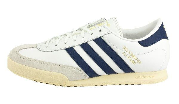 Adidas Originals Beckenbauer Allround (Leather) - White & Navy - BNIBWT in Clothes, Shoes & Accessories, Men's Shoes, Trainers | eBay