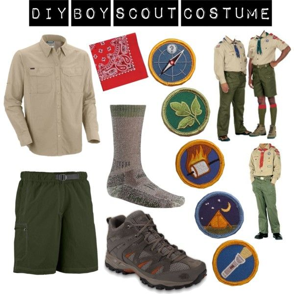Diy Boy Scout Costume Holidays Costumes Halloween