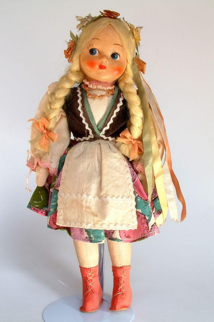 Poland | Polish folk doll