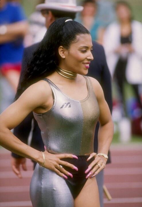 "Olympian ""Flo Jo""--Florence Griffith Joyner"
