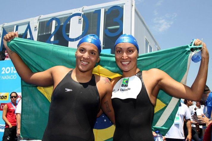 Poliana Okimoto e Ana Marcela Cunha