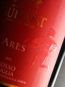 Masseria Surani Ares Rosso Puglia igt #Tommasiwine www.masseriasurani.it
