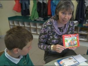 Great blog, with jolly phonics ideas