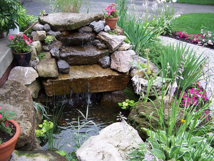 25 nejlep ch obr zk na pinterestu na t ma bassin d eau for Construire une fontaine de jardin