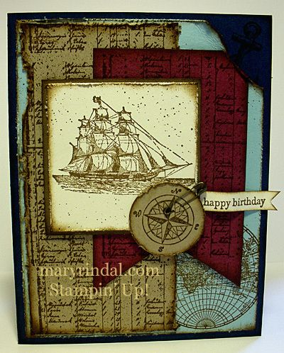 The Open Sea (Stampin' Up)