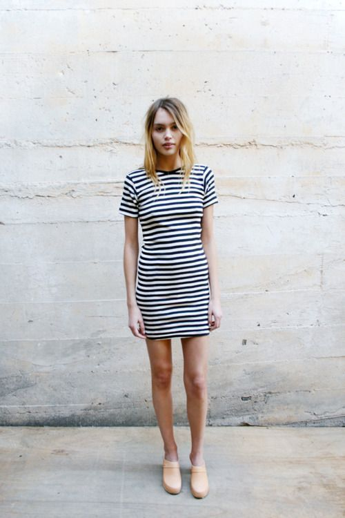 Striped dress: Fashion, Street Style, Outfit, Dresses, Stripe Dress, Closet, Stripes