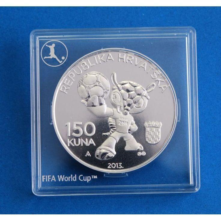 ::RARE:: CROATIA 150 kuna 2013 / 2014 FIFA World Cup Brazil Proof Silver Coin  | eBay