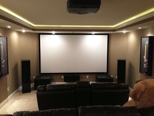 Led Ceiling Lights Home Theatre : Best images about home cinema on theater