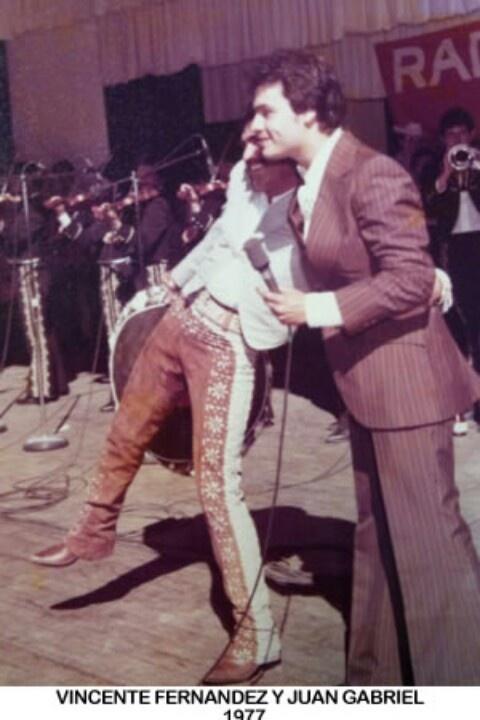 Vicente Fernandez & Juan Gabriel two of my favorite singers