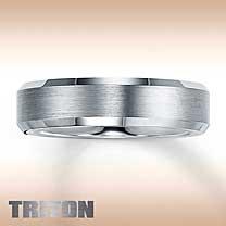 Triton Tungsten Carbide Band for Him