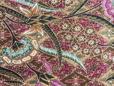 Malaysia Batik Pattern