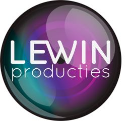 Logo design LEWIN Producties -  ChrissieFresh   Grafisch Ontwerp