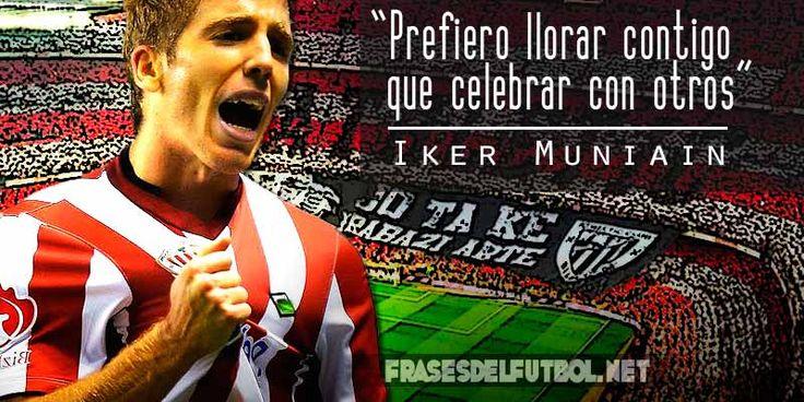 Prefiero llorar contigo que celebrar con otros. Iker Muniain