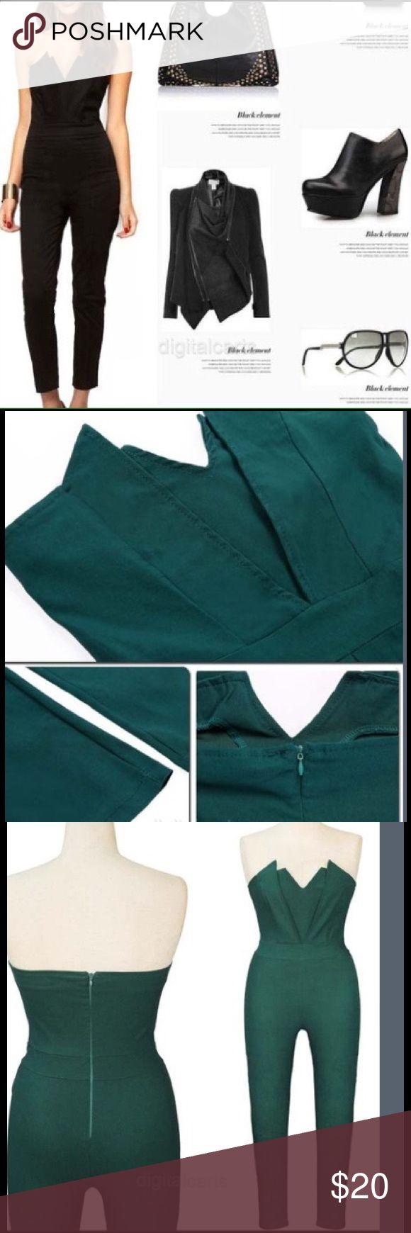 👉 Off Shoulder V-neck Jumpsuit/ SALE TODAY 🌓⏱ New! Boutique Other