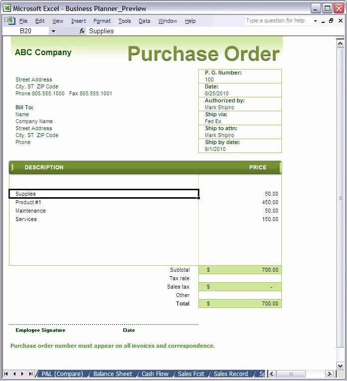 Best Order Form Images On   Order Form