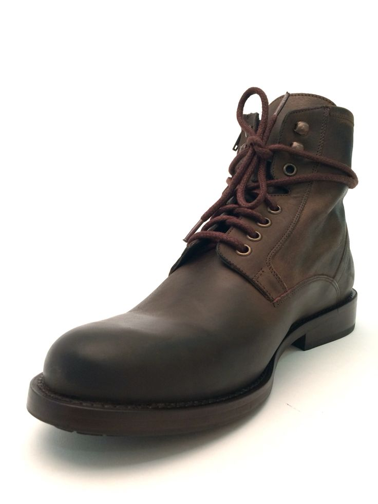 The Ziggy- a leather boot for men with laces and a zipper. It's a great casual boot for the mountains, the city or for getting on your motorcycle. Gift ideas for the the husband, or boyfriend!