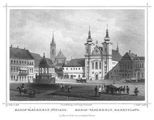 Piața principală Targu Mures
