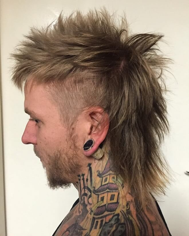 Spiky Mohawk Mullet Top 40 Modern Mullet Hairstyles For Men Hairstyles Mens Hairstyles Men Me Mullet Hairstyle Mohawk Hairstyles Men Mullet Haircut