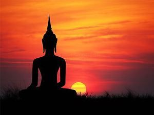 The 25 best buddha painting ideas on pinterest buddha art buda art print poster painting drawing buddha silhouette sunset sky sciox Image collections