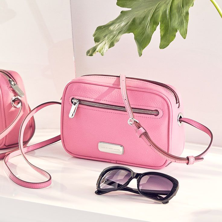 Pretty in pink – little bags in bold colors.