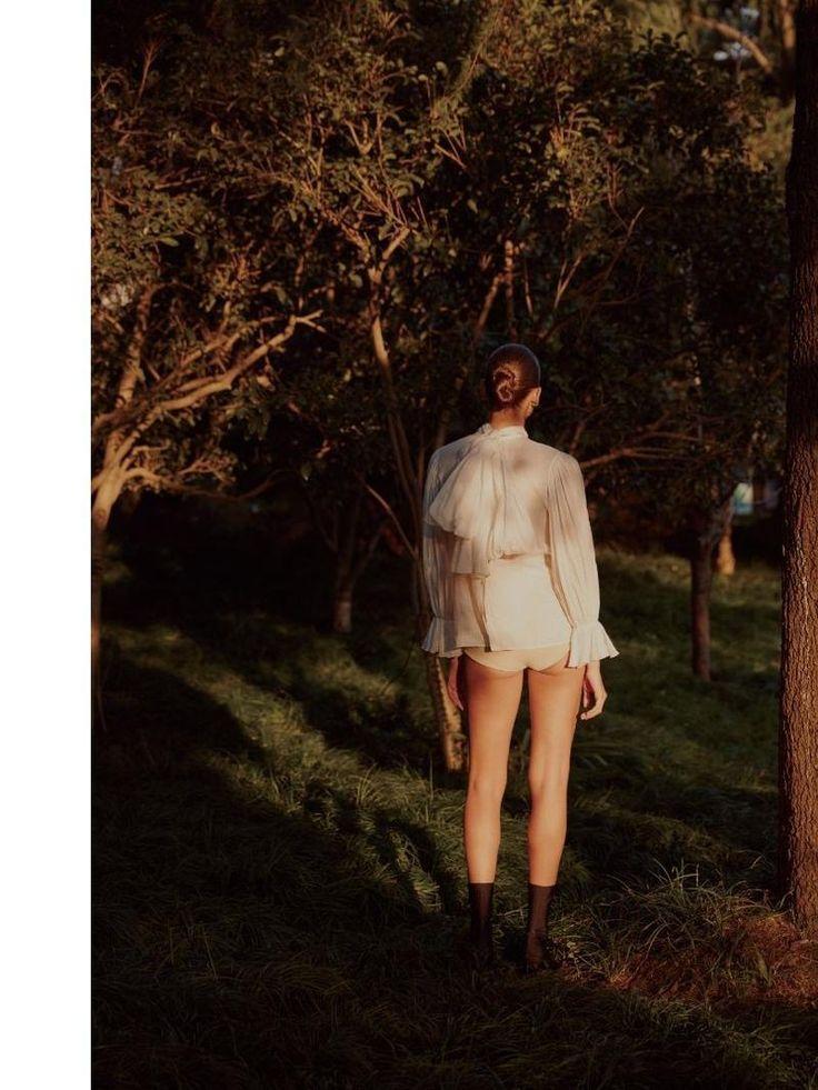 Zuzanna Bijoch for Madame Figaro China, April 2017  | Polish Models Blog
