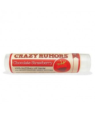 Balzám na rty Chocolate Strawberry Crazy Rumors  Jahody a čokoláda