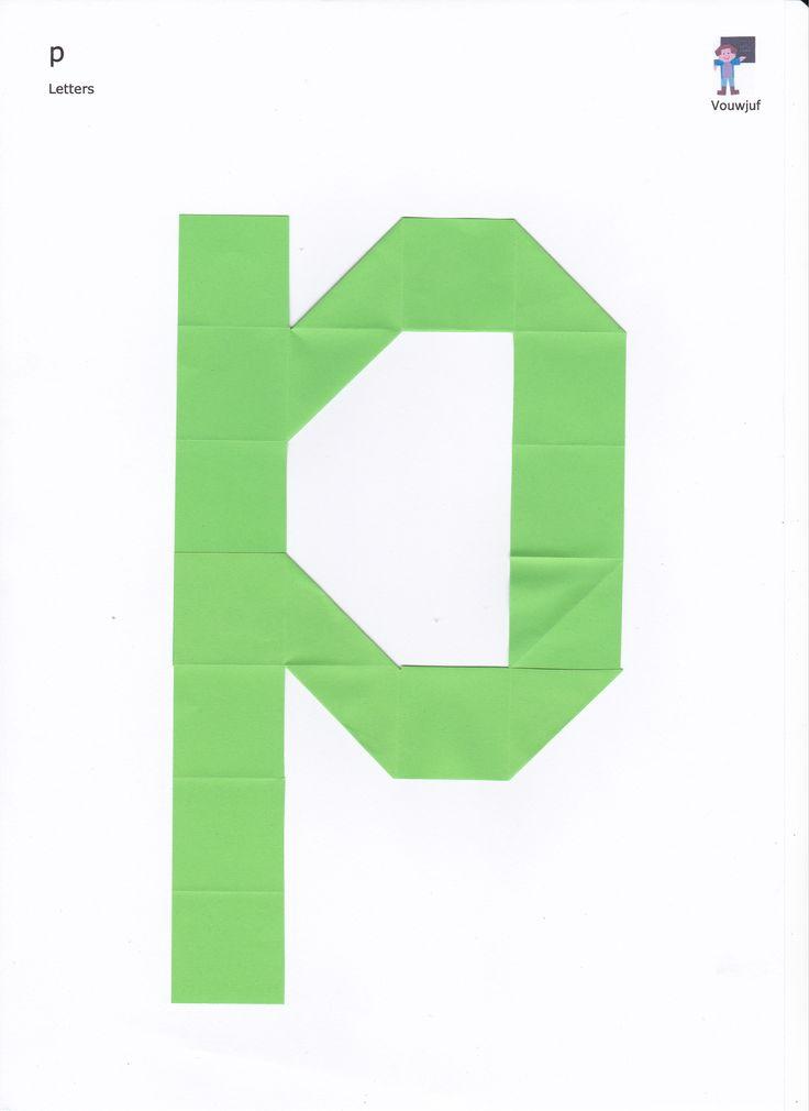 p - 16 vierkantjes