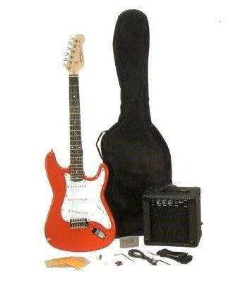 Pack Guitarra Eléctrica Rojo