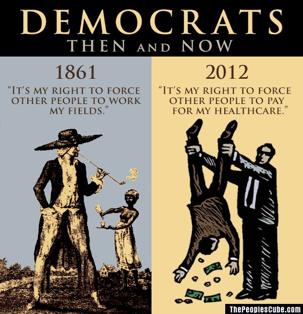 Democrats - Then & Now