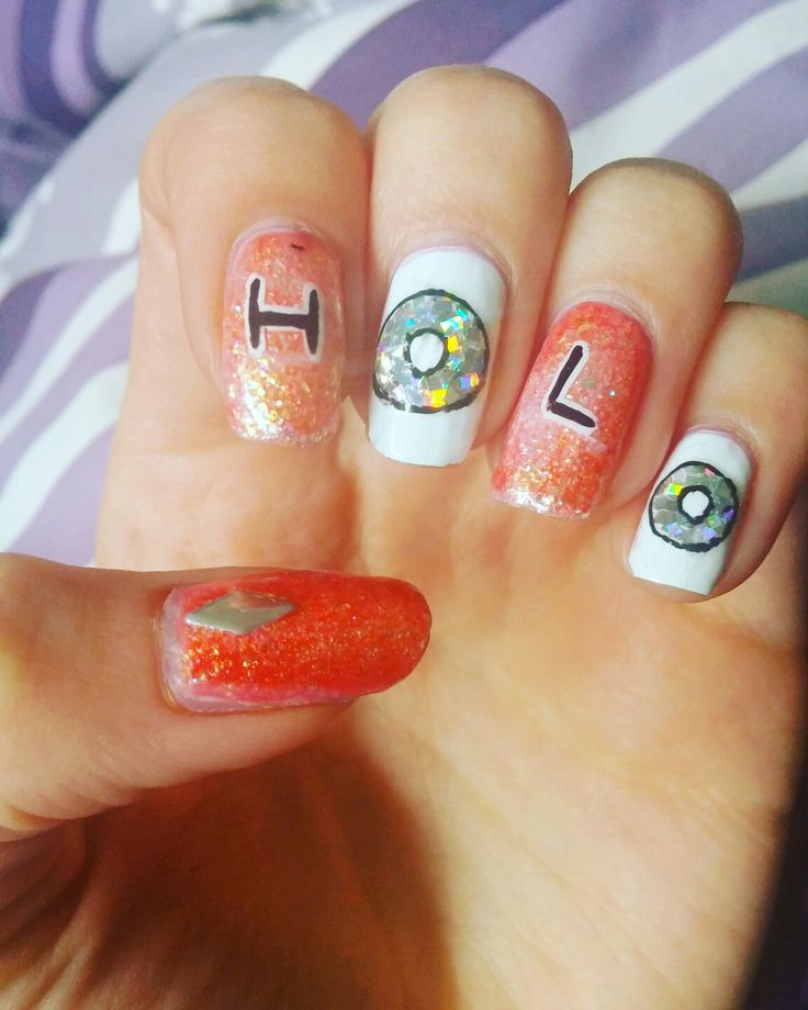 Simply Nailogical Nail Art: 25 Best Holo Nails Images On Pinterest