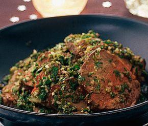 Recept: Dubbelmarinerad oxfilé, perfekt om man bjuder på buffé eller behöver någonting kallt men lyxigt