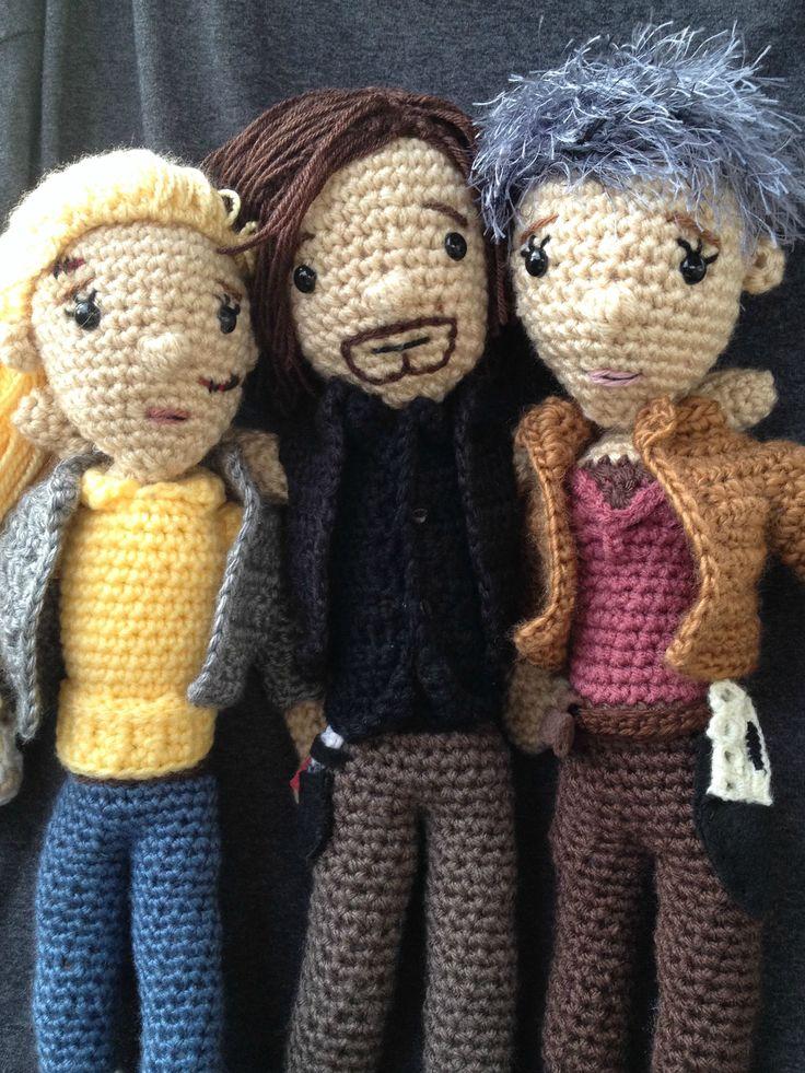 Carol from The Walking Dead: craftgrrl