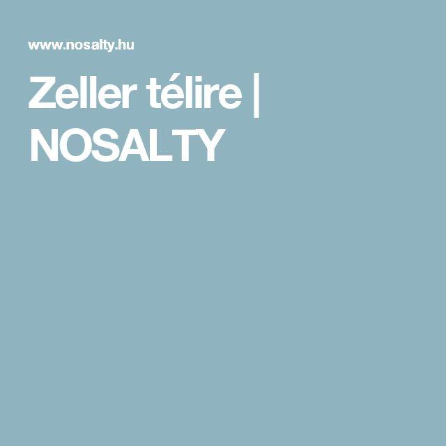 Zeller télire   NOSALTY