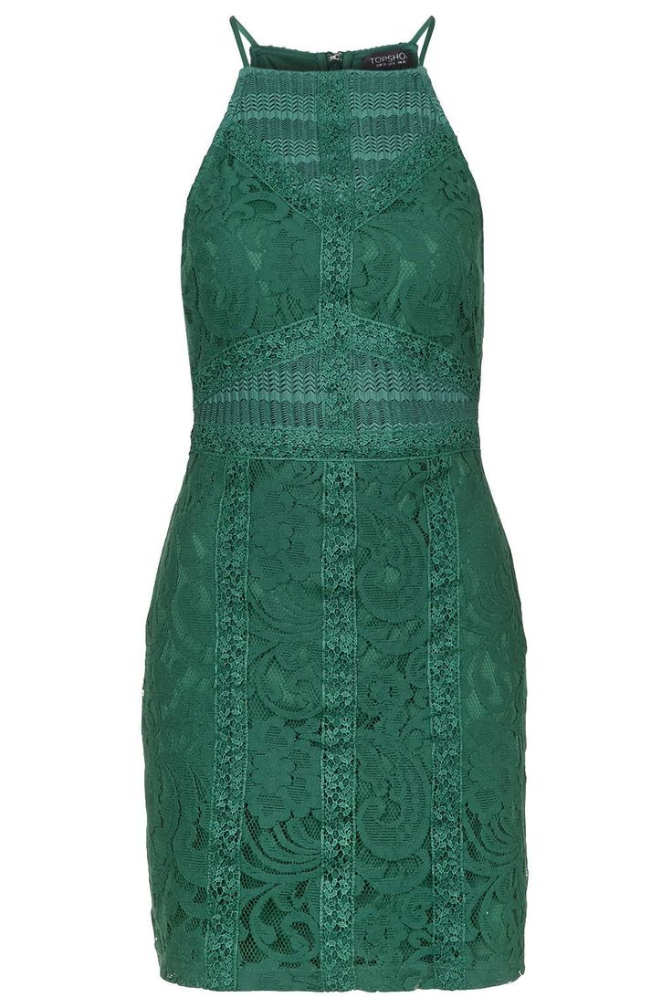 Maurices green bodycon strappy high emerald neck dress back india down