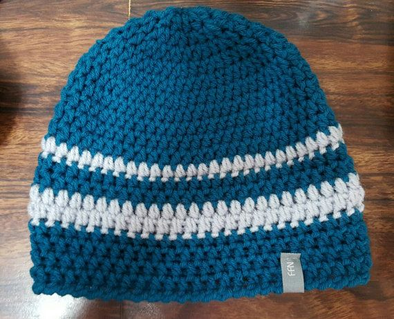 Check out this item in my Etsy shop https://www.etsy.com/ca/listing/255497060/teal-and-light-grey-beanie