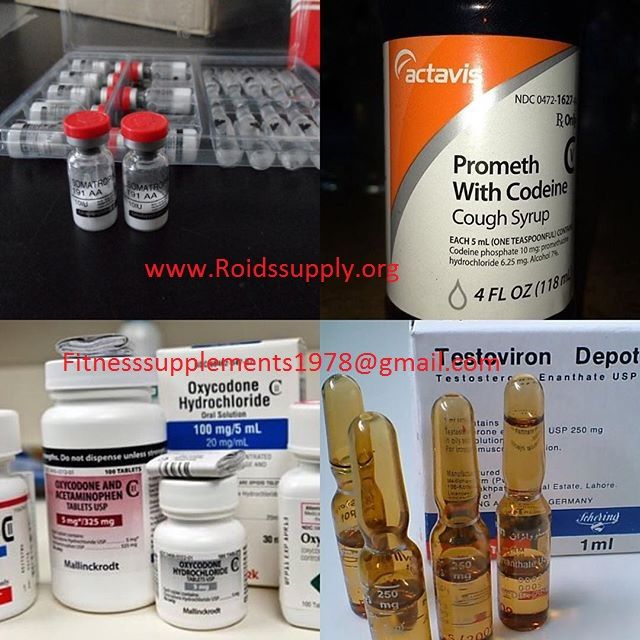 Selling top quality pain killer pills at affordable prices alprazolam (xanax),yellow bars, oxycontin, opana, methadone, actavis cough syrup, norco, percocet, adderall, vicodin, nembutal, xanax bars, hydrocodone, roxycodone, morphine, fentanyl patches and many other pain killer pills at the best available prices.  Wickr..genlabs Contact......fitnesssupplements1978@gmail.com Blog......www.Roidssupply.org Shipping is worldwide