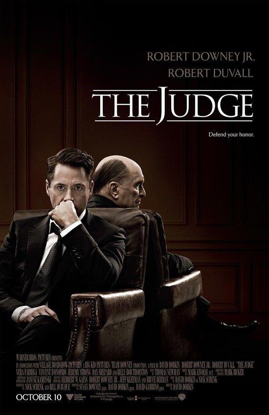 """the Judge"" [2014]. Colors, composition, Robert Downey Jr's haircut"